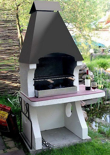Гриль печь для дачи