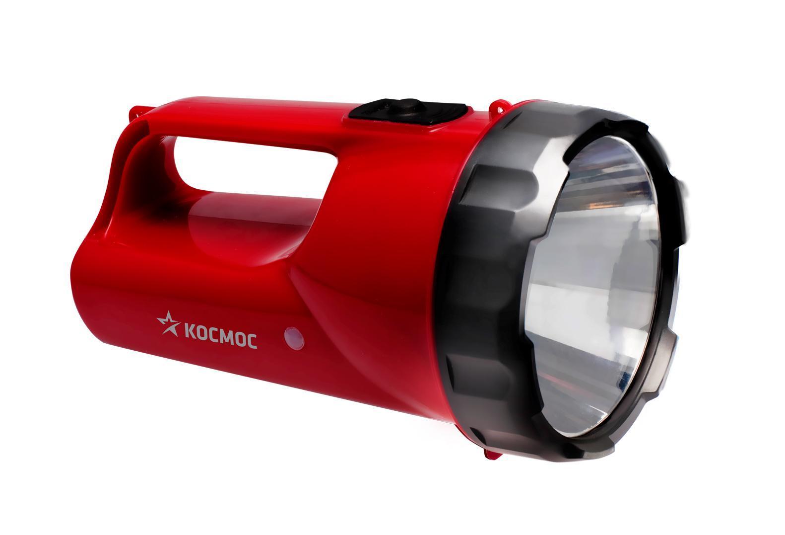 Фонарь-прожектор аккумуляторный Космос, цвет: красный. Модель 9191KOCAccu9191LEDФонарь-прожектор Kosmos KOCAccu9191LED весит 0,45 кг. Источником света служит 1 светодиодная лампа, которая дает длину светового луча 250 метров. Работает от аккумулятора. Удобен для использования дома и на природе. Время работы - 16 часов. Характеристики: Емкость аккумуляторной батареи: 6V/2Ah. Напряжение: 6 V. Дальность свечения: 250 м. Рабочие температуры фонаря (при полностью заряженной батарее): от - 10°С до +40°С. Характеристики: Материал: пластик, стекло, металл, текстиль. Размер фонаря: 16 см х 10 см х 10 см. Емкость аккумуляторной батареи: 6V/2Ah. Напряжение: 6 V. Дальность свечения: 250 м. Яркость свечения: 240 лм: Рабочие температуры фонаря (при полностью заряженной батарее): от - 10°С до +40°С. Размер упаковки: 19,5 см х 13 см х 13 см. Производитель: Россия. Изготовитель: Китай. Артикул: KOCAP2008A-LED. Прилагается инструкция по эксплуатации на русском языке. Космос -...