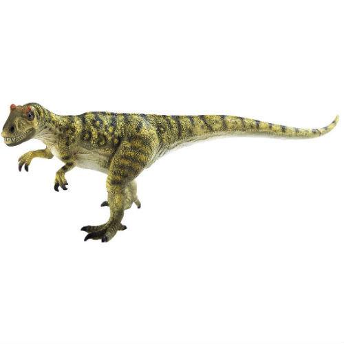 Фигурка Bullyland Аллозавр, 11,5 см61450Фигурка Bullyland Аллозавр из серии Доисторическая фауна станет прекрасным подарком для вашего ребенка. Она выполнена из высококачественного пластика в виде динозавра, который когда-то существовал на Земле. Фигурка займет почетное место среди игрушек вашей малышки. Она станет подлинным украшением вашей коллекции или положит начало новой. Ваш ребенок будет часами играть с этой фигуркой, придумывая различные истории с участием любимого героя. Большой, достигавший 9 метров в высоту, хищный динозавр. Весьма распространенный вид. Хищник без особенной избирательности в еде. Кушал все, что попадалось.