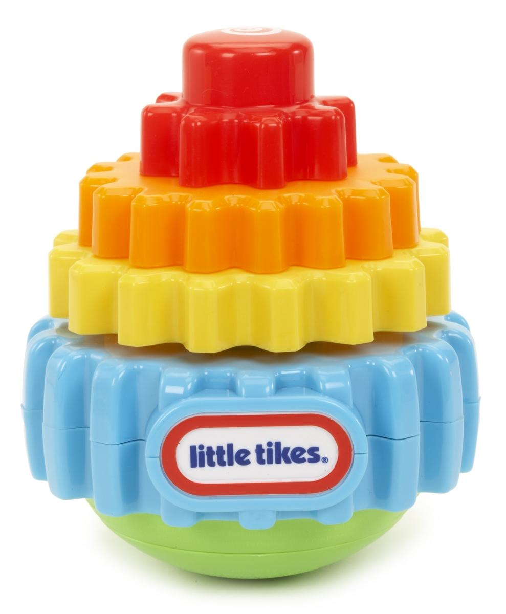 Игрушка Little Tikes Пирамидка-хохотушка637346Яркая музыкальная развивающая игрушка Little Tikes Пирамидка-хохотушка, изготовленная из высококачественного прочного и безопасного для детей пластика в виде пирамидки, обязательно понравится вашему малышу. Ярусы пирамидки выполнены в виде шестеренок. После того, как все ярусы собраны в правильном порядке, нужно нажать на кнопку сверху и пирамидка начнет подпрыгивать и проигрывать музыку. Благодаря своей функциональности игрушка будет развивать у ребенка слух, цветовое восприятие, мелкую моторику а также помогать ему развиваться физически. Необходимо докупить 2 батарейки напряжением 1,5V типа ААА (в комплект не входят).