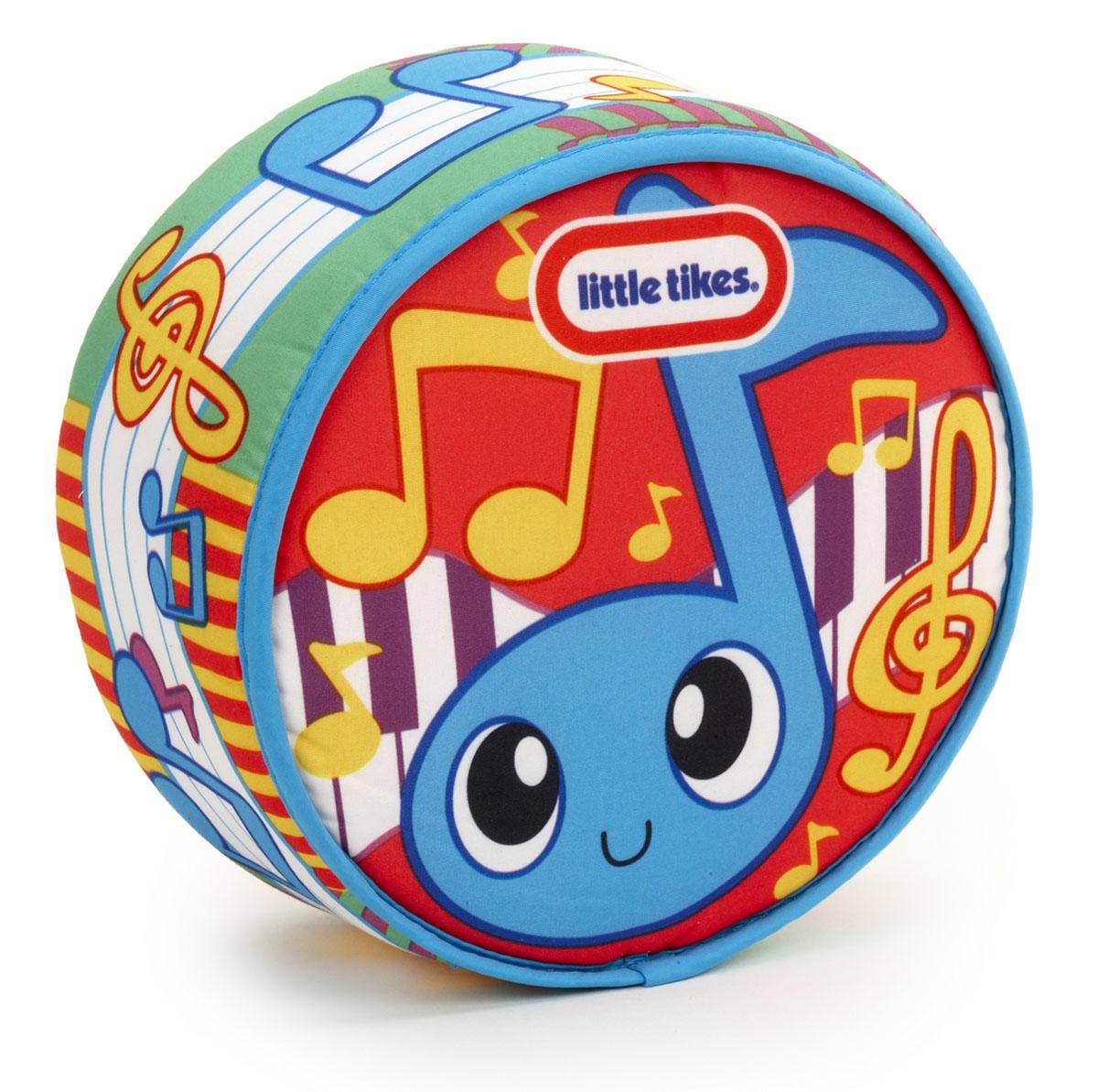 Развивающая игрушка Little Tikes Drum-a-Ditty635977Развивающая игрушка Little Tikes Drum-a-Ditty поможет вашему крохе сделать первые удачные шаги в мире музыки. Мягконабивной барабан оформлен яркими рисунками. При постукивании по игрушке будут воспроизводится звуки различных мелодий. Таким образом, малыш сможет сам сыграть мелодию. Барабан Little Tikes способствует развитию звуковосприятия, чувства ритма и координации движений. Рекомендуется докупить 2 батарейки напряжением 1,5V типа ААА (товар комплектуется демонстрационными).