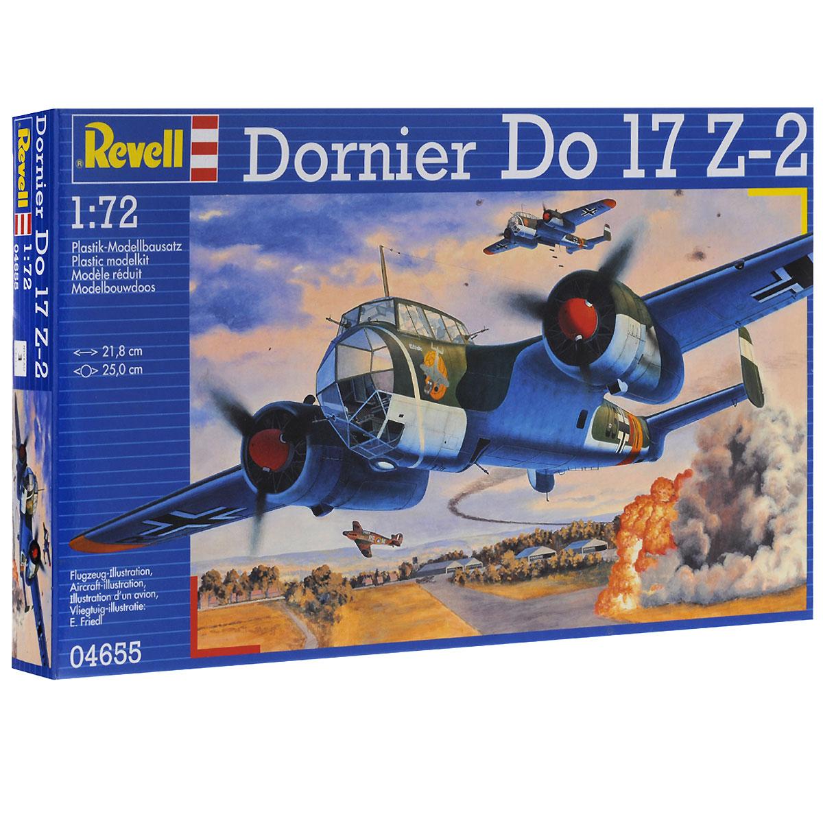 "Сборная модель Revell ""Самолет-бомбардировщик Dornier Do 17 Z-2"""