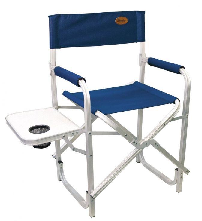 """Кресло складное Canadian Camper """"CC-200AL"""", цвет: синий, 56 см х 50 см х 50/88 см"""