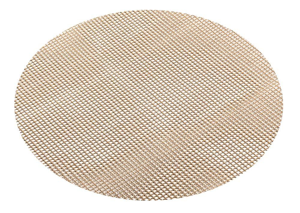Сетка для духовки и гриля Marmiton, диаметр 24 см17050Сетка Marmiton предназначена для приготовления любых продуктов в газовых и электрических духовках, на гриле, без масла и жира. Благодаря равномерной циркуляции воздуха, позволяет добиться хрустящей корочки. Сетка изготовлена из стекловолокна с антипригарным покрытием. Для многоразового использования. Диаметр: 24 см. Температурный режим: от - 60°С до + 260°С.
