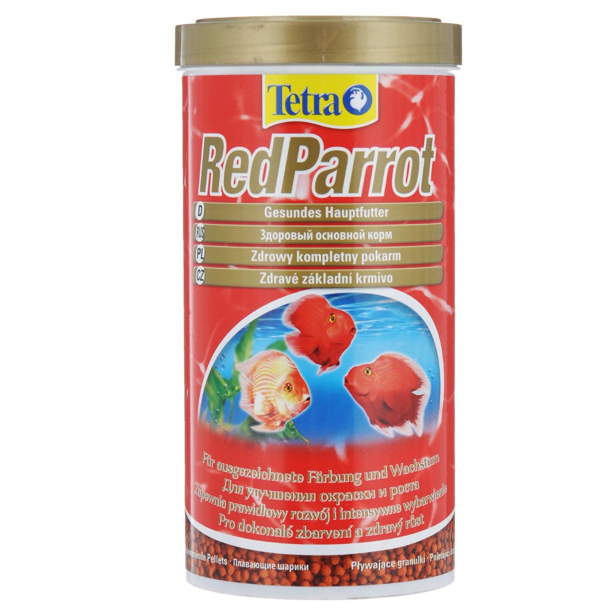 Корм сухой Tetra RedParrot, для красных попугаев, в виде шариков, 1 л199033Tetra RedParrot - разработан специально для удовлетворения специфических потребностей красных попугаев в питании. Этот корм в виде шариков среднего размера особенно рекомендован большим красным попугаям. Особенности корма Tetra RedParrot: - содержит натуральные усилители цветовой окраски и выделения красных пигментов; - усиление окраски заметно уже через две недели при кормлении только Tetra RedParrot; - оптимальная рецептура обеспечивает хорошую усваиваемость и улучшение роста; - произведено в Германии, строгий контроль качества в соответствии с нормами ISO 9001 гарантируют здоровое питание. Рекомендации по кормлению: кормить несколько раз в день маленькими порциями. Характеристики: Состав: зерновые культуры, экстракты растительного белка, рыба и побочные рыбные продукты, дрожжи, моллюски и раки, масла и жиры, минеральные вещества, водоросли. Пищевая ценность: сырой белок - 42%, сырые масла и жиры -...