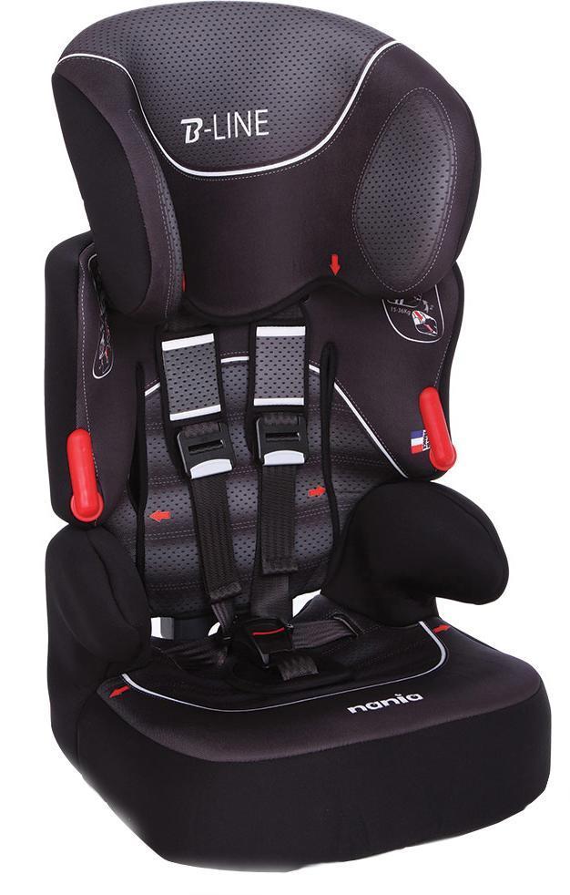 Автокресло Nania Beline SP FST гр. 1-2-3 Graphic black293076Автокресло Nania Beline SP - стильное, комфортное, предназначено для детишек весом от 9 до 36 килограмм, группы 1 - 2 - 3. Оно обеспечит юному пассажиру максимальную безопасность. У кресла имеется боковая защита, прочный литой каркас, глубокие боковинки, повышающие защиту при столкновении, пятиточечные ремни безопасности (регулируемые) с наплечниками. Комфортный регулируемый подголовник в шести позициях, подлокотники, съемное покрытие, которое при необходимости стирается в щадящем режиме. Nania Beline может использоваться со спинкой или без спинки (бустер). В таком креслице ваш ребенок будет чувствовать себя уютно и безопасно.