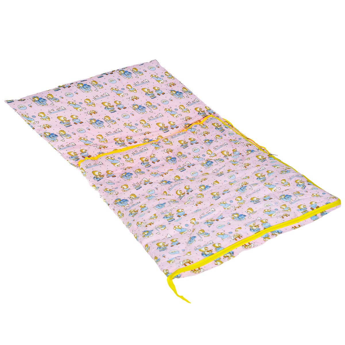 Спальник детский Спортбэби, 3 в 1, цвет: розовыйсп.0002