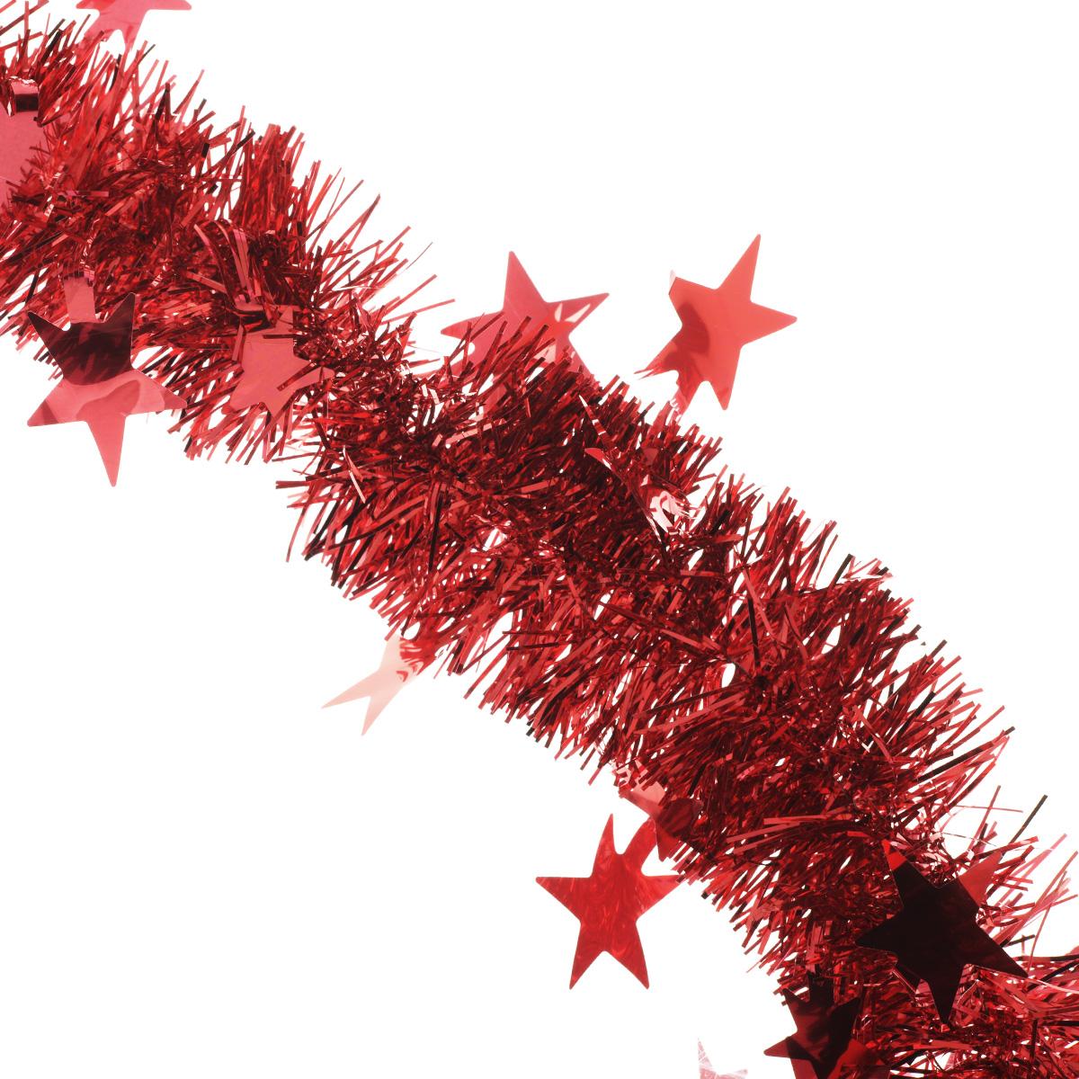 Мишура новогодняя Sima-land, цвет: красный, диаметр 5 см, длина 2 м. 702609702609Мишура новогодняя Sima-land, выполненная из фольги, поможет вам украсить свой дом к предстоящим праздникам. Мишура армирована, то есть имеет проволоку внутри и способна сохранять приданную ей форму. Новогодняя елка с таким украшением станет еще наряднее. Новогодней мишурой можно украсить все, что угодно - елку, квартиру, дачу, офис - как внутри, так и снаружи. Можно сложить новогодние поздравления, буквы и цифры, мишурой можно украсить и дополнить гирлянды, можно выделить дверные колонны, оплести дверные проемы. Коллекция декоративных украшений из серии Зимнее волшебство принесет в ваш дом ни с чем несравнимое ощущение праздника! Создайте в своем доме атмосферу тепла, веселья и радости, украшая его всей семьей.
