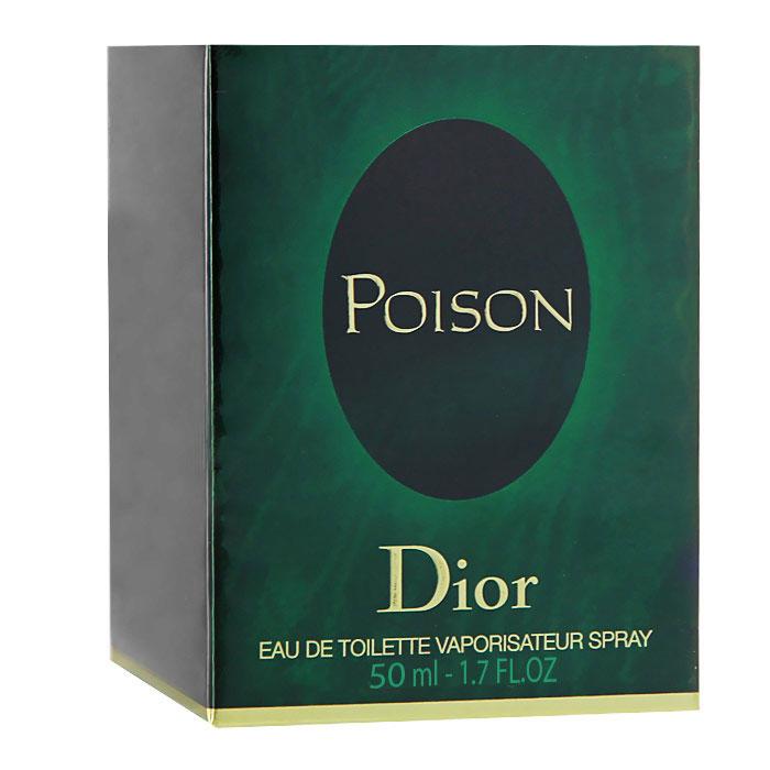 Christian Dior Poison. Туалетная вода, женская, 50млF006322009Событие в мире парфюмерии. Запретное искушение в легендарном восхитительном аромате Christian Dior Poison. Смелый и провоцирующий, загадочный, полный тайн. Запретное искушение, которое никого не оставит равнодушным. Невероятный цветочно-пряный и амбровый аромат. Poison в переводе с французского - это Яд, ароматный яд для сердца, яд покорения и соблазнения... Классификация аромата : амбровый, пряный, цветочный. Верхние ноты: кориандр, слива, стручковый перец, анис. Ноты сердца: тубероза, корица, гвоздика, роза. Ноты шлейфа: сандал, мускус, янтарь. Ключевые слова : Пьянящий, яркий, будоражащий, влекущий, завораживающий! Характеристики: Объем: 50 мл. Производитель: Франция. Туалетная вода - один из самых популярных видов парфюмерной продукции. Туалетная вода содержит 4-10% парфюмерного экстракта. Главные достоинства...