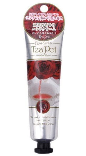 Sun Smile Смягчающий крем для рук Tea Pot с экстратами чая, розы и алоэ-вера. С ароматом чая из роз 60 гр.