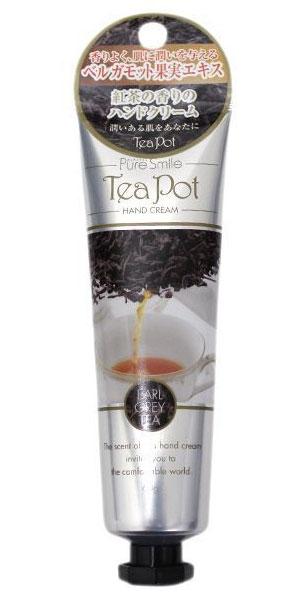 Sun Smile Смягчающий крем для рук Tea Pot с экстратом чая, бергамота и алоэ-вера. С ароматом чая Граф Грей 60 гр.