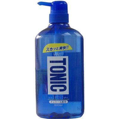WINS Тонизирующий шампунь Tonic с ополаскивателем, 600 мл.825550Тонизирующий шампунь с ментолом против перхоти содержит натуральный ментол. Включает в состав очищающий компонент для кожи головы. Тщательно очищает кожу головы от загрязнений. Легко смывается. Устраняет перхоть и зуд. Содержит растительные катионизироаванные полимеры. Делает волосы шелковистыми. Обладает нежным ароматом свежей мяты.
