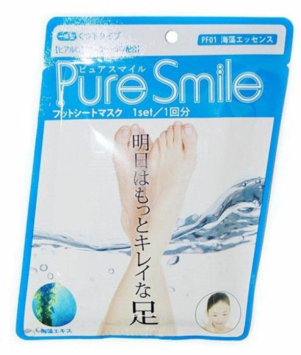 Pure Smile Питательная маска для ступней с эссенцией морских водорослей 18г.005223Питательная маска для ступней с эссенцией морских водорослей PURE SMILE - это необходимый уход за достаточно проблемным участком кожи. Компоненты маски окажут интенсивное питание и увлажнение, осветлят и разгладят кожу ступней. Коллаген и гиалуроновая кислота, окажут мощное увлажняющее действие, вернут кожу плотность и упругость. Эссенция морских водорослей стимулирует клеточный обмен, нормализует секрецию жировых желез, тонизирует кожу, улучшает ее эластичность и способствует омоложению, препятствует огрубению кожи. Кипарисовая вода, препятствует появлению неприятных запахов, обладает дезодорирующим эффектом.