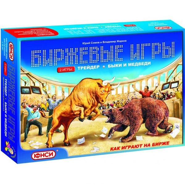 Юнси Настольная игра 2 в 1 Трейдер, Быки и медведи ( 0101213RU )