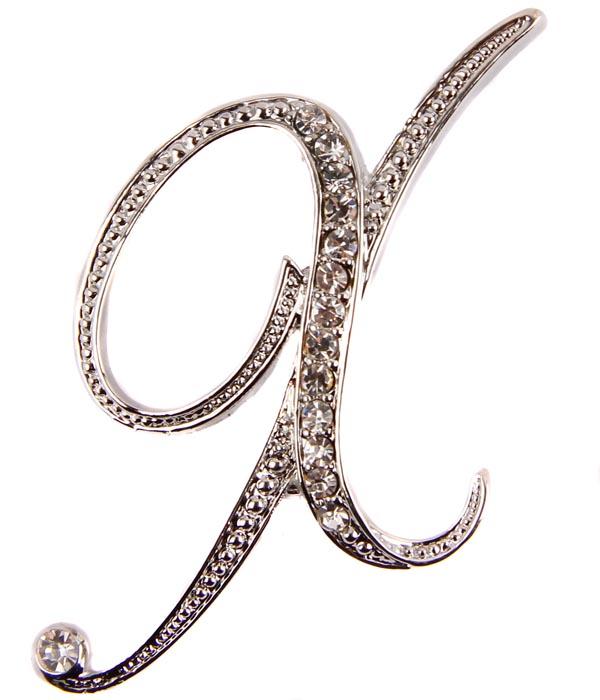 Брошь Буква Х. Бижутерный сплав, австрийские кристаллы. Начало XXI векаАРТ, BR0002Брошь Буква Х. Бижутерный сплав, австрийские кристаллы. Западная Европа, начало XXI века. Сохранность хорошая. Размер: 7 см х 3 см. Именная брошь на лацкане жакета, платье или рубашке - и пусть окружающие угадывают, как именно вас зовут! Отличный подарок подруге, коллеге, начальнице... или даже школьной учительнице вашего ребенка. А может, и себе любимой? Выполнена брошь из бижутерного сплава отличного качества. Украшена множеством австрийских кристаллов ювелирной огранки.