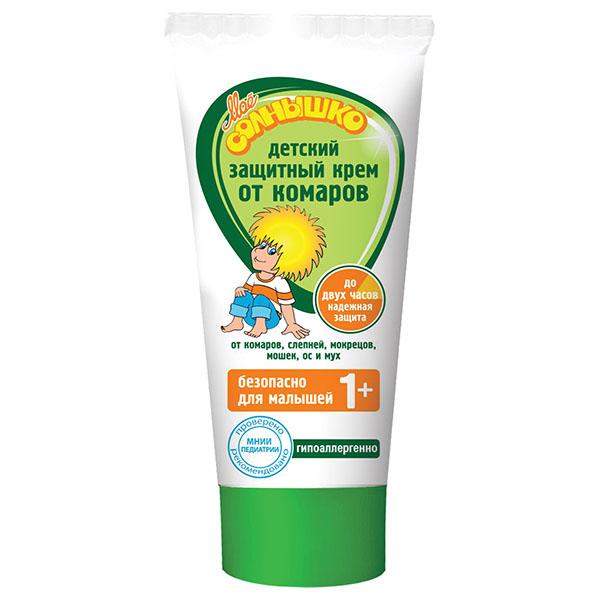 Мое солнышко Крем от комаров, детский, 50 мл02.03.16.1340Крем от комаров Мое солнышко разработан специально для детей. Эффективно защищает от комаров, слепней и других летающих насекомых (москитов, мокрецов, мошек, а также мух и ос). Безопасный для ребенка состав подходит для малышей от 1 года. Обладает мягким приятным запахом. Гипоаллергенно. Одобрено и рекомендовано МНИИ Педиатрии и детской хирургии Минздрава России. Товар сертифицирован.