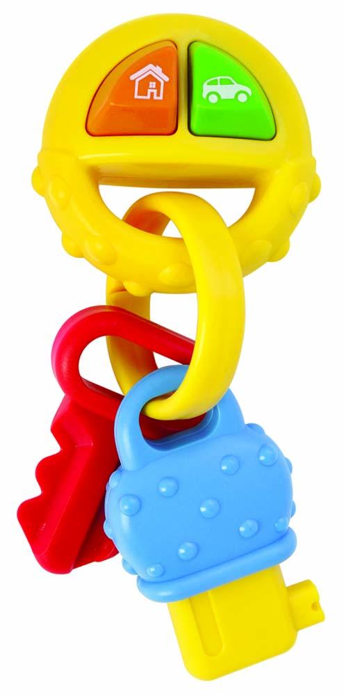 Мир детства Музыкальная игрушка Ключики цвет зеленый