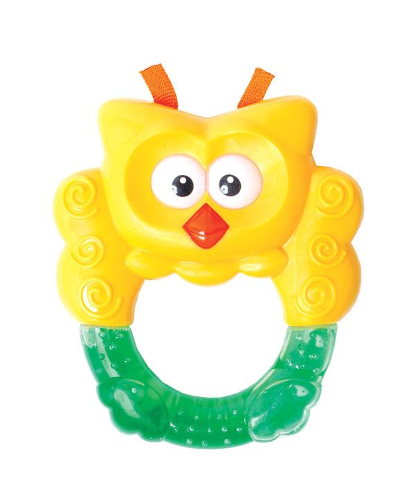 Игрушка с водой Мир детства Сова23036Игрушка с водой и прищепкой  Сова - идеальный вариант для первой игрушки малыша. Игрушка заполнена специально очищенной питьевой водой. Разнообразные по своей фактуре и цветам детали игрушки помогут малышу развить моторику, воображение, концентрацию внимания, цветовое восприятие. Игрушка с помощью клипсы крепится на одежду малыша: не пачкается и не теряется.