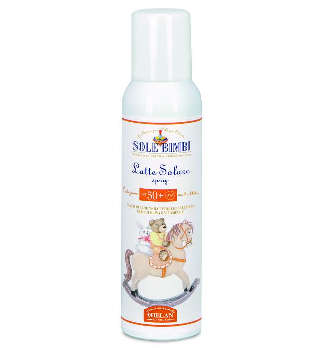 "Helan Солнцезащитное молочко-спрей ""Sole Bimbi"", SPF50+ UVA, 125 мл 41L50"