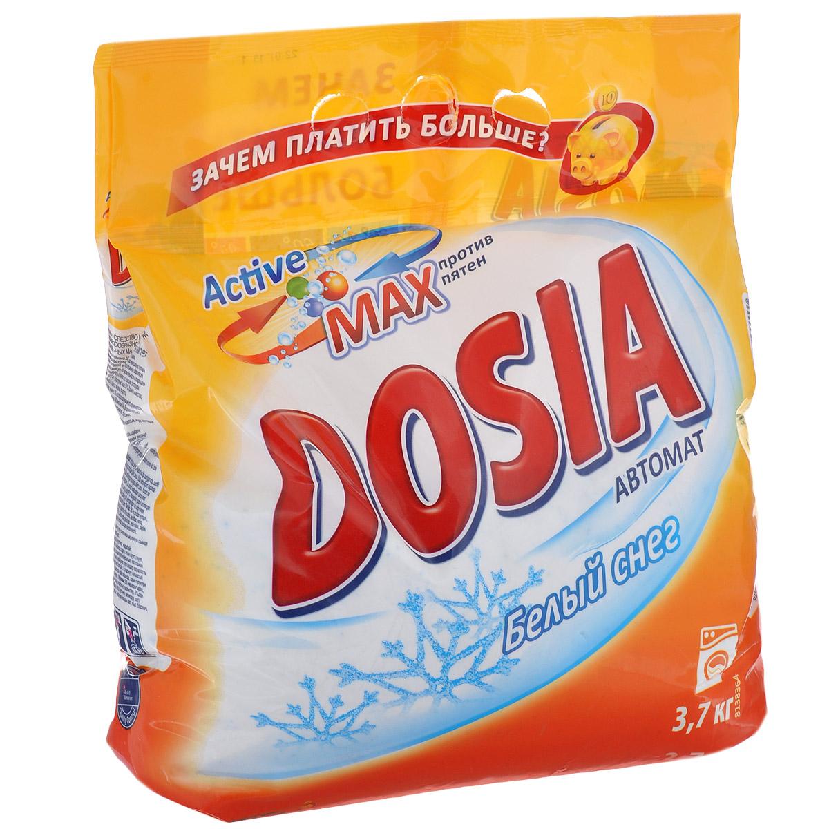 """Стиральный порошок Dosia """"Active Max. Белый снег"""", 3,7 кг 325332"""