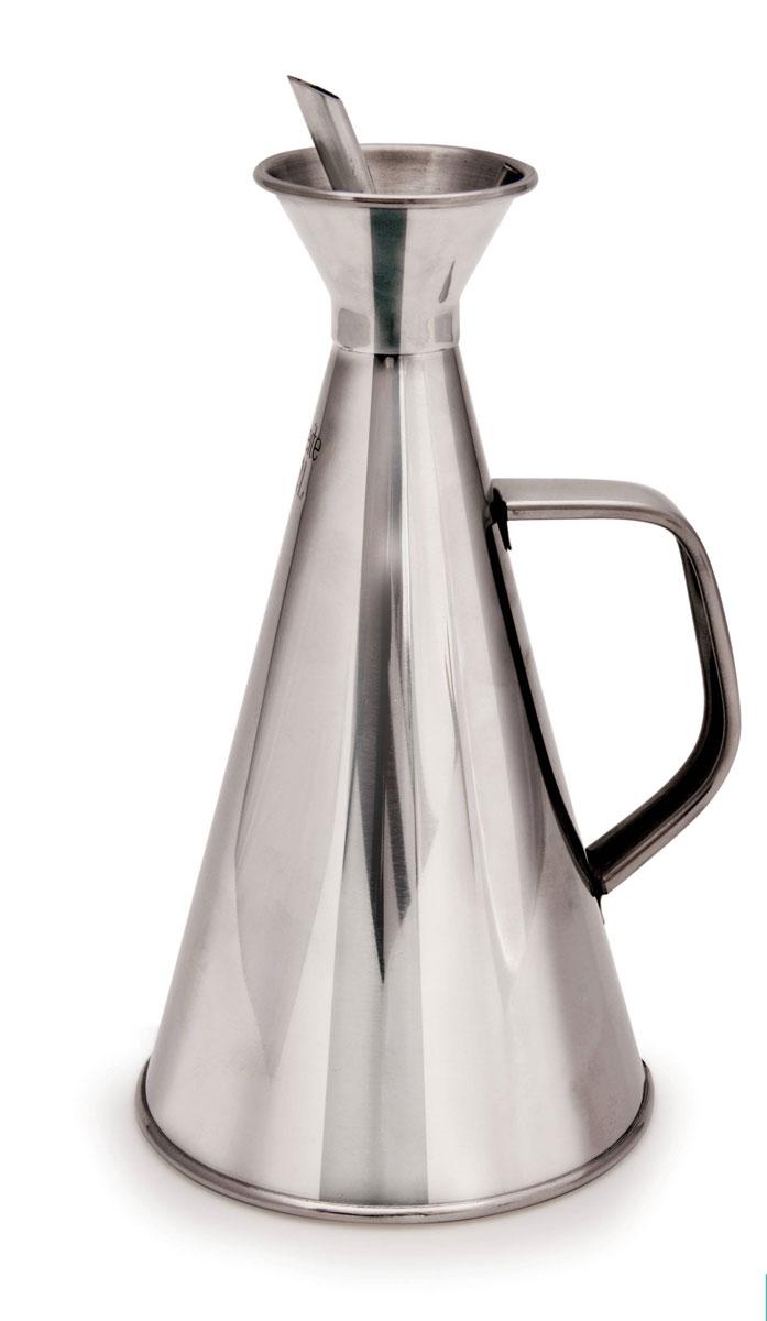 IRIS Масленка 500 мл (нерж.)3091-IСлив масла осуществляется через носик, масло наливается через отверстие горловины, закрытой крышечкой. Производителем рекомендовано не частое мытье сосуда внутри (2-3 раза в год), снаружи – по желанию, по мере загрязнения. Внутри мыть ершиком с использованием теплого мыльного раствора (нельзя использовать агрессивные моющие средства). Пояснение: не частое мытье внутренней поверхности масленки связано с тем, что сосуд закрытый, внутренняя поверхность естественным образом покрывается маслом в ходе эксплуатации, что является безопасным.
