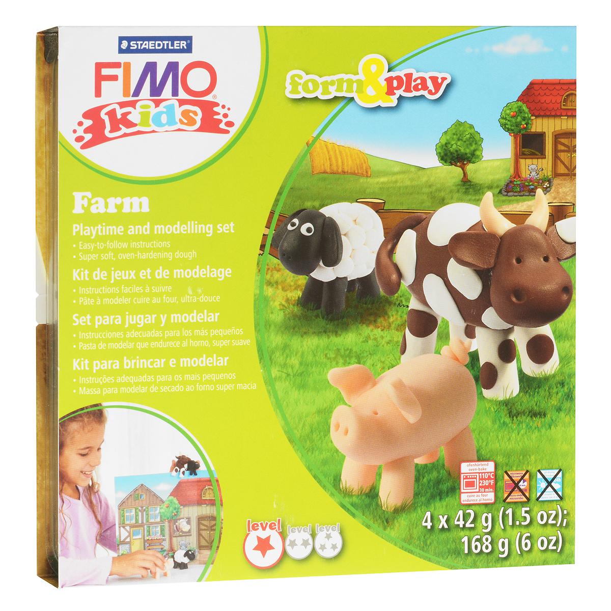 Набор для лепки Fimo Kids