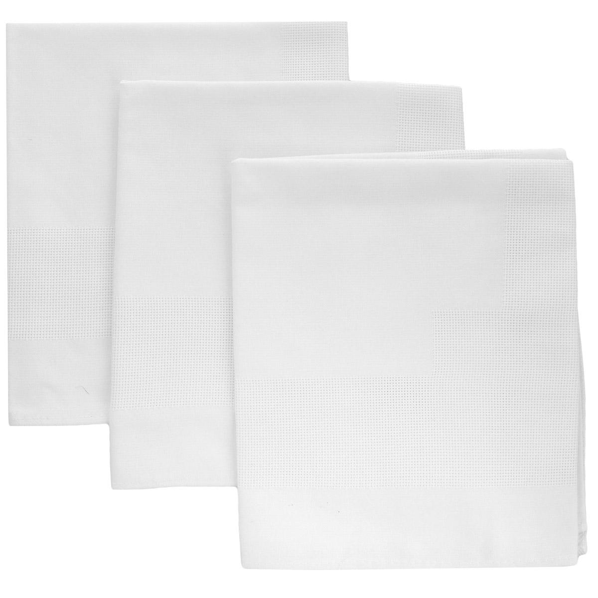 Салфетки Alisena, цвет: белый, 46 см х 44 см, 3 шт547206Салфетки Alisena выполнены из натурального льна. В наборе - 3 салфетки. Такие салфетки защитят ваш стол от царапин и станут оригинальным дополнением интерьера. Вы можете использовать салфетки для декорирования стола, комода, журнального столика. В любом случае они добавят в ваш дом стиля, изысканности и неповторимости. Комплектация: 3 шт.