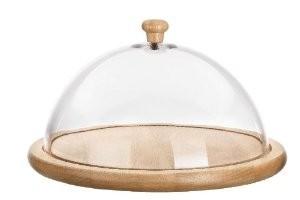 Доска сырная Iris, с крышкой, диаметр 24 см3563-MСырная доска Iris - разделочная доска круглой формы, выполненная из высококачественного бука. Она не рассыхается, не впитывает запахи и отличается высокой прочностью. Предназначена для нарезки сыра и других продуктов. Благодаря высокой пластиковой крышке нарезанную пищу можно хранить, не перекладывая в другую посуду. Качественная и функциональная разделочная доска станет настоящей находкой для хозяек. Диаметр доски: 24 см. Высота крышки: 9 см.
