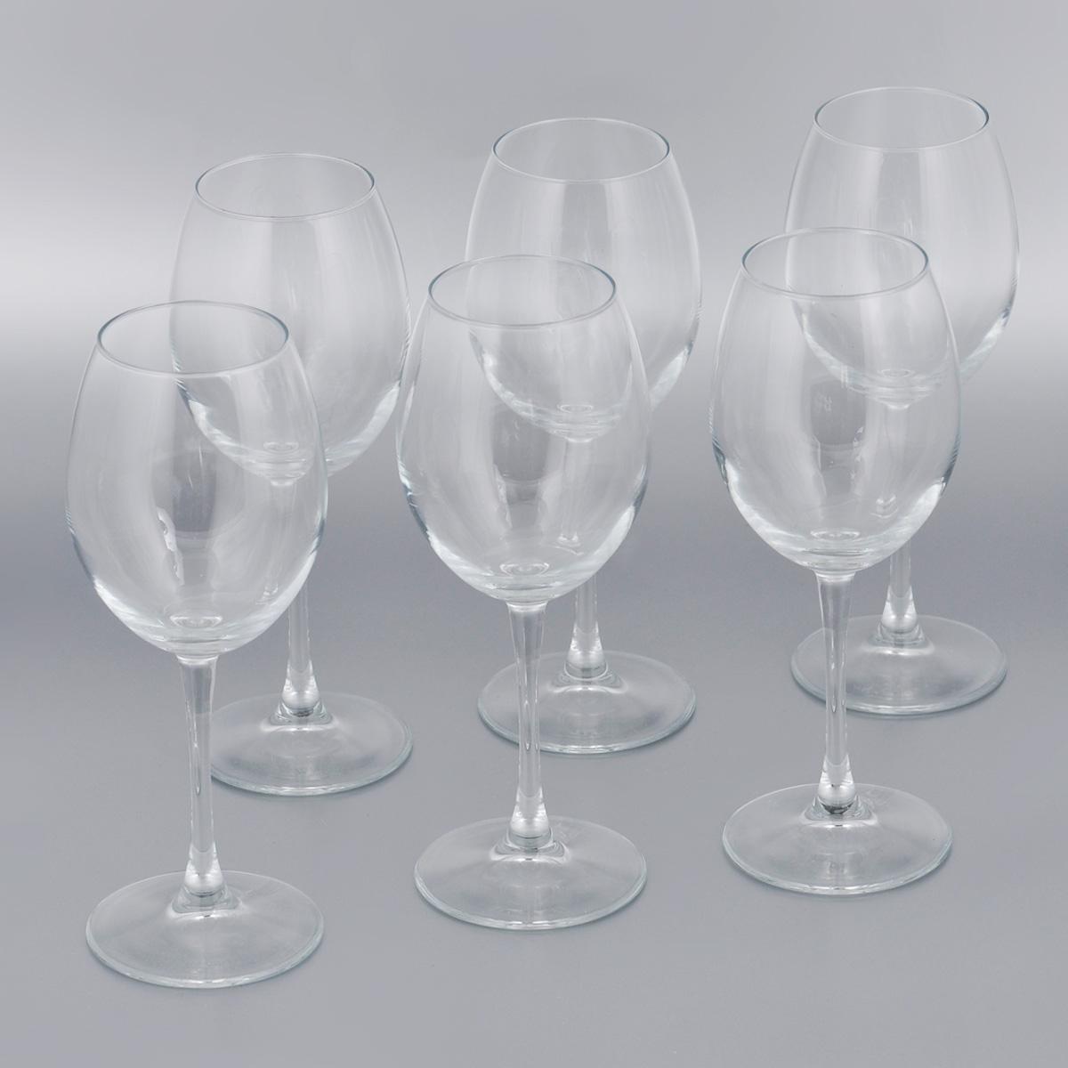Набор бокалов для красного вина Pasabahce Enoteca, 420 мл, 6 шт44728BНабор Pasabahce Enoteca состоит из шести бокалов, выполненных из прочного натрий-кальций-силикатного стекла. Изделия оснащены высокими ножками. Бокалы предназначены для подачи красного вина. Они сочетают в себе элегантный дизайн и функциональность. Благодаря такому набору пить напитки будет еще вкуснее. Набор бокалов Pasabahce Enoteca прекрасно оформит праздничный стол и создаст приятную атмосферу за романтическим ужином. Такой набор также станет хорошим подарком к любому случаю. Можно мыть в посудомоечной машине и использовать в микроволновой печи. Диаметр бокала (по верхнему краю): 6 см. Высота бокала: 22,5 см.