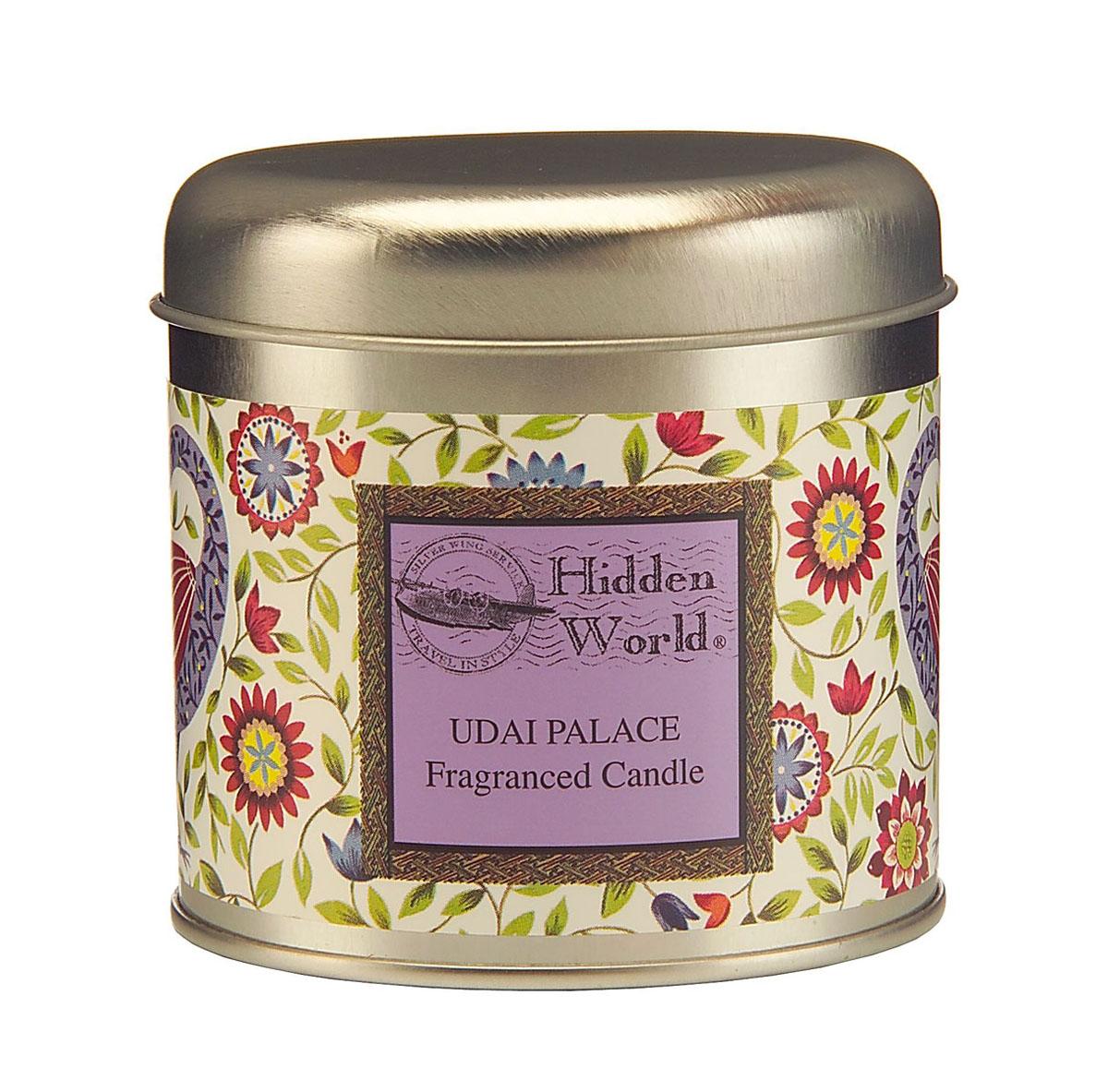 Wax Lyrical Дворец махараджи ароматическая свеча в алюминии, 35 часовHW0101Расслабляющий аромат лаванды с прохладными верхними нотами бергамота и эвкалипта
