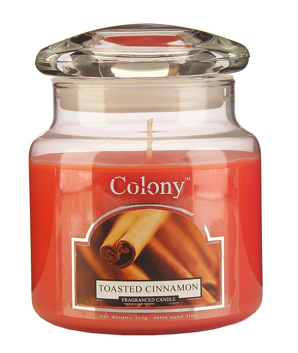 Wax Lyrical Пряная корица ароматизированная свеча в стекле средняя, 90 часовCH0744Теплый зимний аромат корицы с оттенками гвоздики и сладкой ванили. Уважаемые клиенты! Обращаем ваше внимание на возможные изменения в дизайне упаковки. Поставка осуществляется в зависимости от наличия на складе.