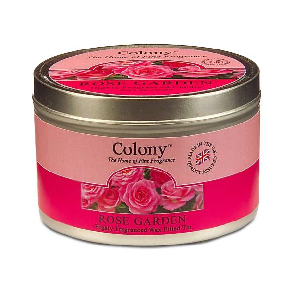 Wax Lyrical Розовый сад ароматизированная свеча в алюминии, 30 часовCH1024Узнаваемый аромат свежесрезанных роз, переплетающийся с нотками гардении