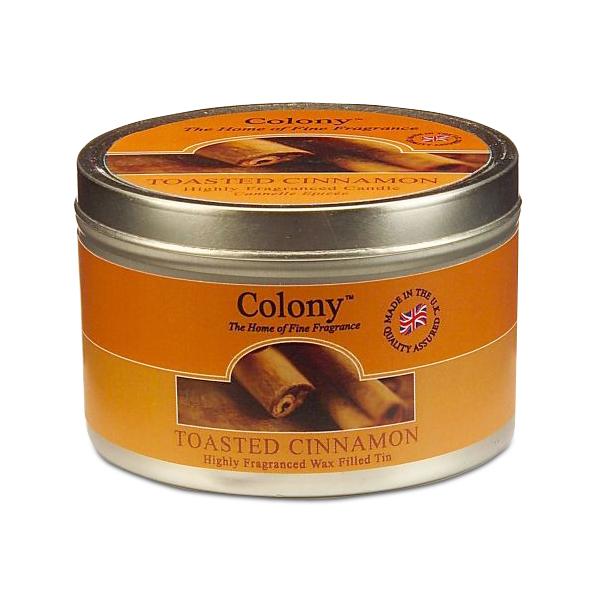 Wax Lyrical Пряная корица ароматизированная свеча в алюминии, 30 часовCH1044Теплый зимний аромат корицы с оттенками гвоздики и сладкой ванили