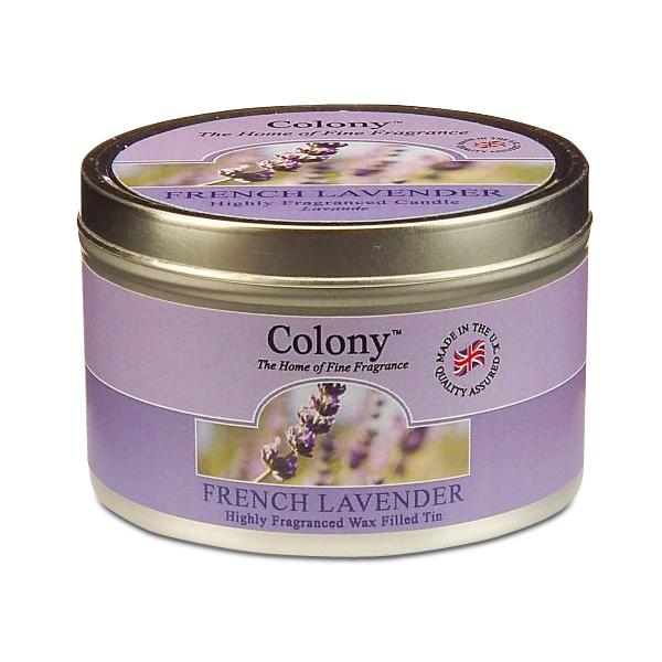 Wax Lyrical Французская лаванда ароматизированная свеча в алюминии, 30 часовCH1061Расслабляющий аромат, вобравший в себя горьковатую пряность свежей лаванды, подчеркнутый верхними нотами эвкалипта и бергамота