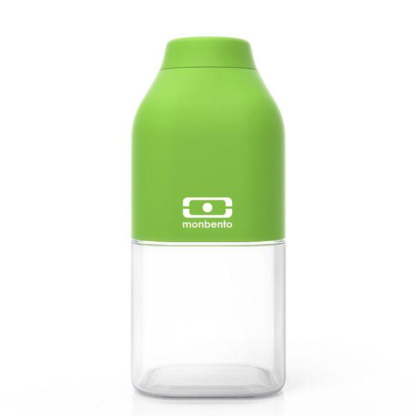 """Бутылка для воды Monbento """"Positive"""", цвет: зеленый, 330 мл"""