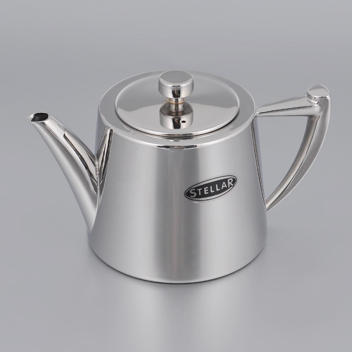 Чайник заварочный Silampos Art Deco, 600 мл41281318SC52Чайник заварочный Silampos Art Deco изготовлен из высококачественной нержавеющей стали с зеркальной полировкой. Благодаря специальному покрытию, тепло распределяется равномерно по основанию чайника. Классический стиль и оптимальный объем делают чайник Silampos Art Deco удобным и оригинальным аксессуаром, который прекрасно подойдет как для ежедневного использования, так и для специальной чайной церемонии. Можно мыть в посудомоечной машине. Диаметр чайника (по верхнему краю): 6,5 см. Высота чайника (без учета крышки): 9 см. Посуда Silampos производится с использованием самых последних достижений в области производства изделий из нержавеющей стали. Алюминиевый диск инкапсулируется между дном кастрюли и защитной оболочкой из нержавеющей стали под давлением 1500 тонн. Этот высокотехнологичный процесс устраняет необходимость обычной сварки, ахиллесовой пяты многих производителей товаров из нержавеющей стали. Вместо того, чтобы сваривать две...