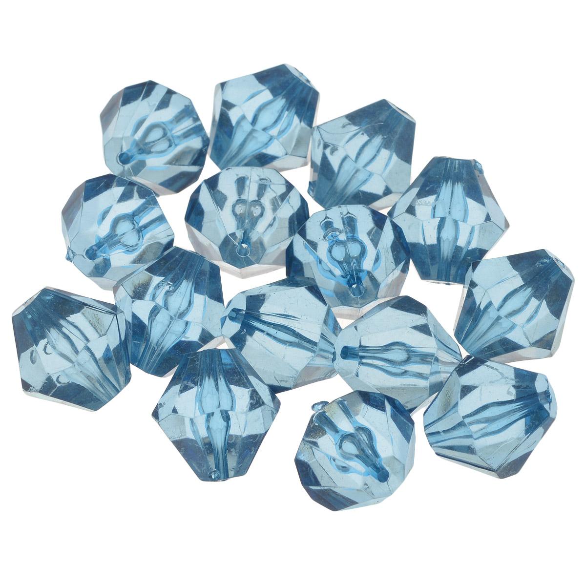 Бусины Астра, цвет: васильковый (63), 16 мм х 17 мм, 25 г. 684982_63684982_63Набор бусин Астра, изготовленный из акрила, позволит вам своими руками создать оригинальные ожерелья, бусы или браслеты. Одноцветные ромбовидные бусины оригинального и яркого дизайна оснащены рельефными, многогранными поверхностями. Изготовление украшений - занимательное хобби и реализация творческих способностей рукодельницы, это возможность создания неповторимого индивидуального подарка. Размер бусины: 16 мм х 17 мм.