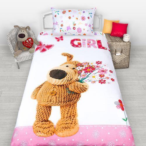 Постельное белье Boofle Girl (1,5-спальный КПБ, бязь, наволочки 50х70)
