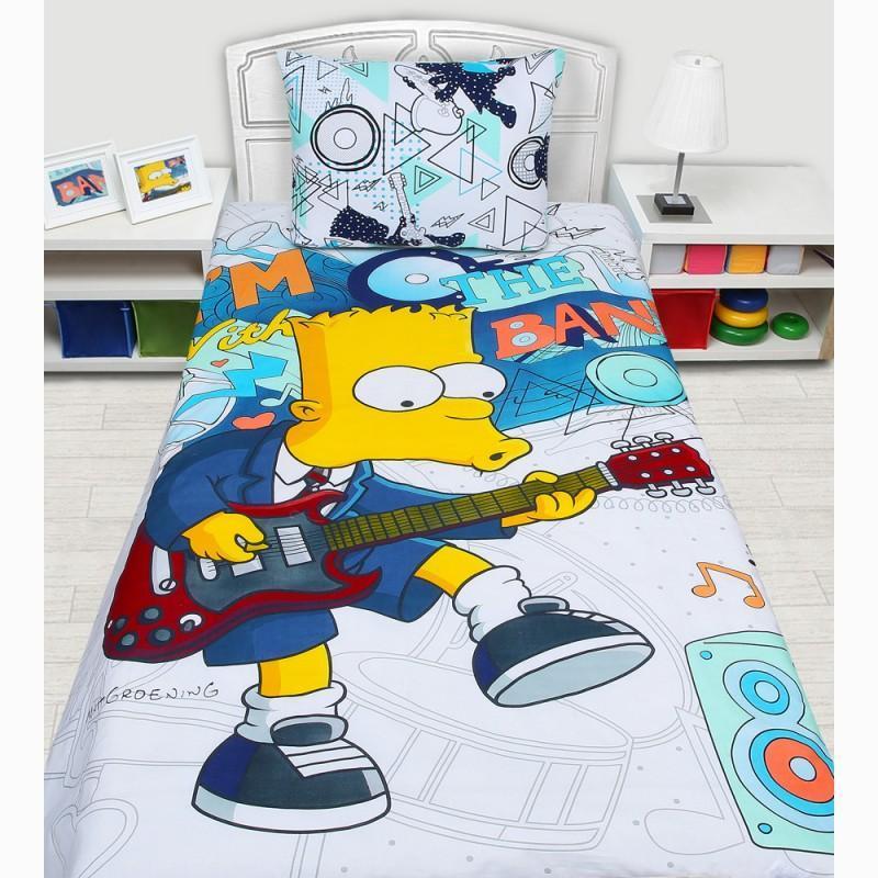 Комплект белья Simpsons (1,5-спальный КПБ, бязь, наволочки 50х70)522021Нав.(1шт.) 50*70, прост. 150*215, подод. 145*210 на пуговицах