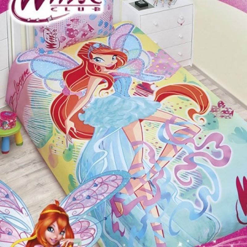 Постельное белье Winx Bloom 2013 (1,5-спальный КПБ, бязь, наволочки 50х70)