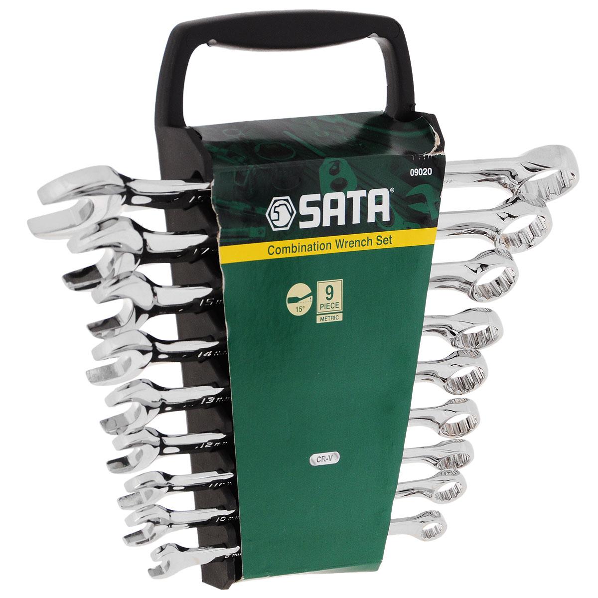 Набор ключей SATA 9пр. 09020