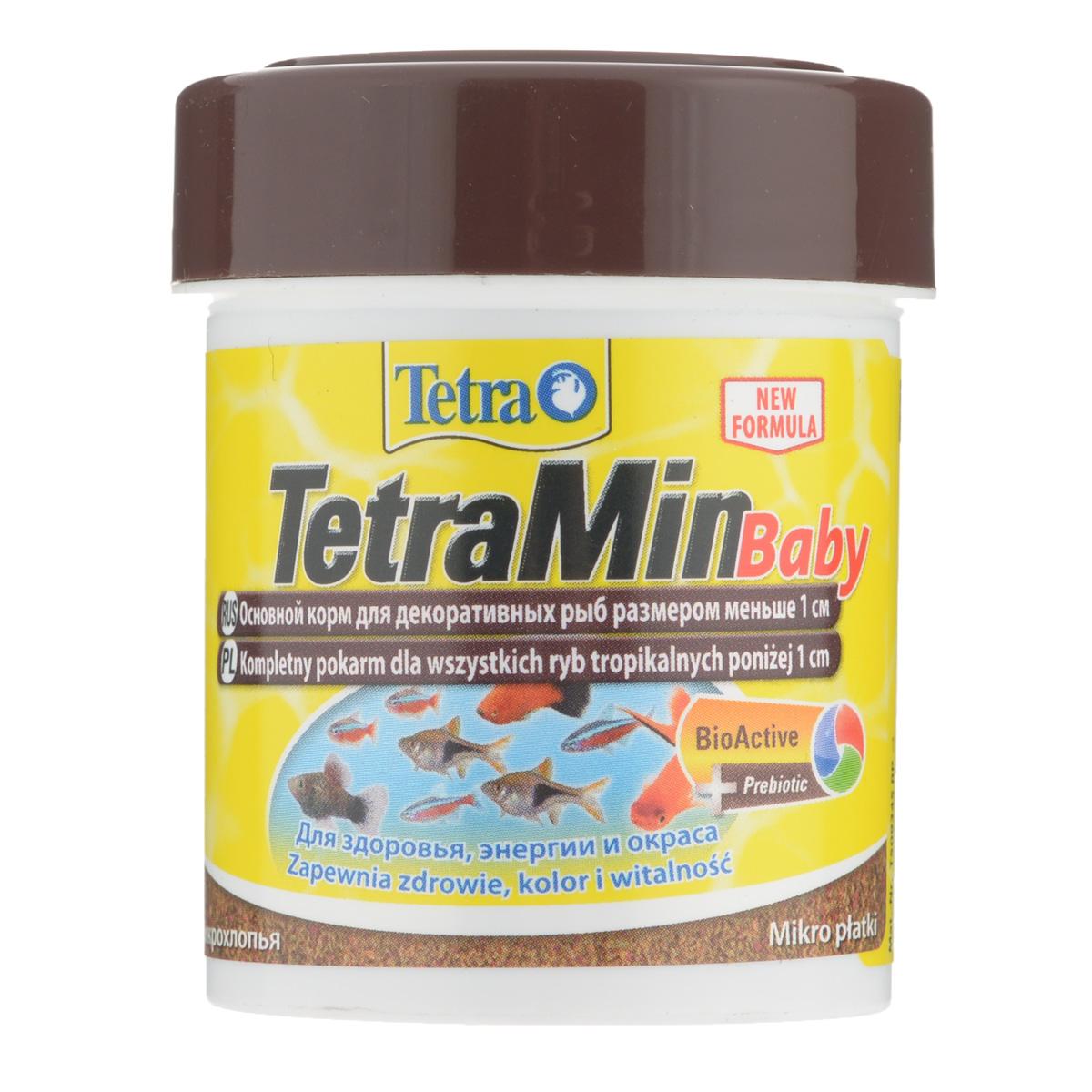 Корм Tetra Min Baby для декоративных рыб меньше 1 см, в виде микрохлопьев, 66 мл199156Корм Tetra Min Baby - это биологически сбалансированный корм в виде микрохлопьев. Очень качественное просеянная смесь высокопитательных и функциональных ингредиентов для поддержания здорового роста на ранних стадий жизни рыб. Рекомендации по кормлению: кормить несколько раз в день маленькими порциями. Характеристики: Состав: рыба и побочные рыбные продукты, зерновые культуры, дрожжи, экстракты растительного белка, моллюски и раки, масла и жиры, сахар (Олигофруктоза 1%), минеральные вещества, водоросли. Пищевая ценность: сырой белок - 46%, сырые масла и жиры - 11%, сырая клетчатка - 2,0%, влага - 6%. Добавки: витамины, провитамины и химические вещества с аналогичным воздействием: витамин А 17310 МЕ/кг, витамин Д3 1080 МЕ/кг. Комбинации элементов: Е5 Марганец 96 мг/кг, Е6 Цинк 57 мг/кг, Е1 Железо 37 мг/кг. Красители, антиоксиданты. Вес: 66 мл (30 г). Товар сертифицирован.