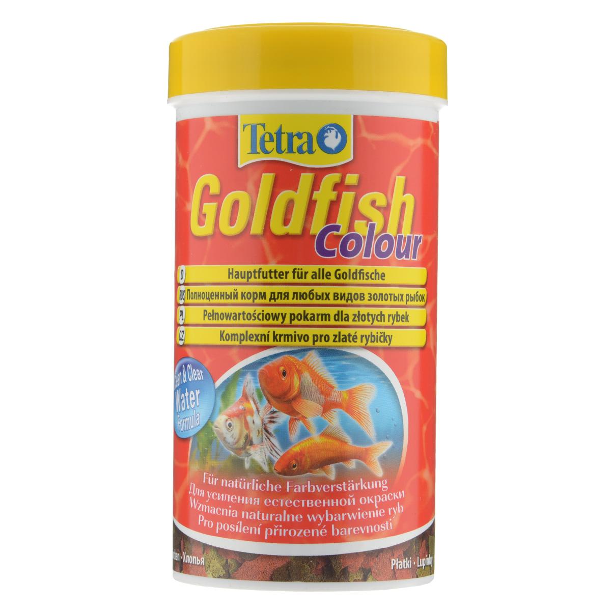 Корм Tetra Goldfish Colour для любых видов золотых рыбок, в виде хлопьев, 250 мл183780Корм Tetra Goldfish Colour - высококачественный сбалансированный питательный корм для любых видов золотых рыбок. Особенности Tetra Goldfish Colour: обогащен каротиноидами для усиления естественной окраски, с формулой Clean & Clear Water для чистой и прозрачной воды и запатентованной формулой BioActive - для продолжительной и здоровой жизни ваших питомцев. Рекомендации по кормлению: кормить несколько раз в день маленькими порциями. Характеристики: Состав: рыба и побочные рыбные продукты, зерновые культуры, дрожжи, экстракты растительного белка, моллюски и раки, масла и жиры, водоросли, сахар. Пищевая ценность: сырой белок - 43%, сырые масла и жиры - 11%, сырая клетчатка - 2%, влага - 6%. Добавки: витамины, провитамины и химические вещества с аналогичным воздействием: витамин А 29360 МЕ/кг, витамин Д3 1830 МЕ/кг. Комбинации элементов: Е5 Марганец 29 мг/кг, Е6 Цинк 17 мг/кг,...