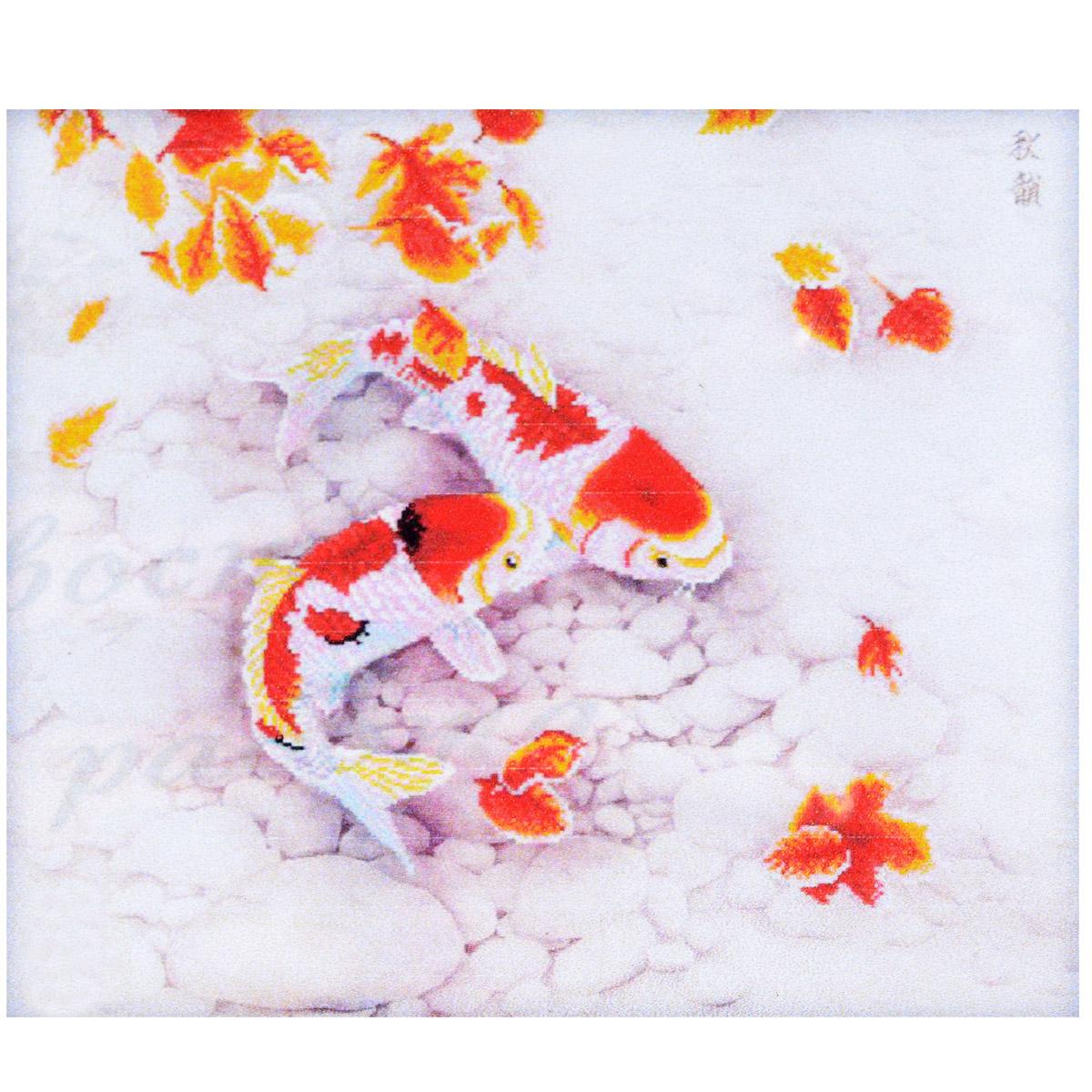 Набор для изготовления картины со стразами Cristal Рыбки, 81 см х 69 см7710731.9019Набор для изготовления картины со стразами Cristal Рыбки поможет вам создать свой личный шедевр. Работа, выполненная своими руками, станет отличным подарком для друзей и близких! Набор содержит: - полотно-схема с нанесенным рисунком и клеевым слоем (размер 89 см х 76 см), - пластиковое блюдце; - стразы (15 цветов), - клей для страз; - карандаш; - точилка; - пинцет; - 2 ватные палочки; - 2 маленьких пакетика; - инструкция на русском языке. Подарите близким тепло ваших рук!