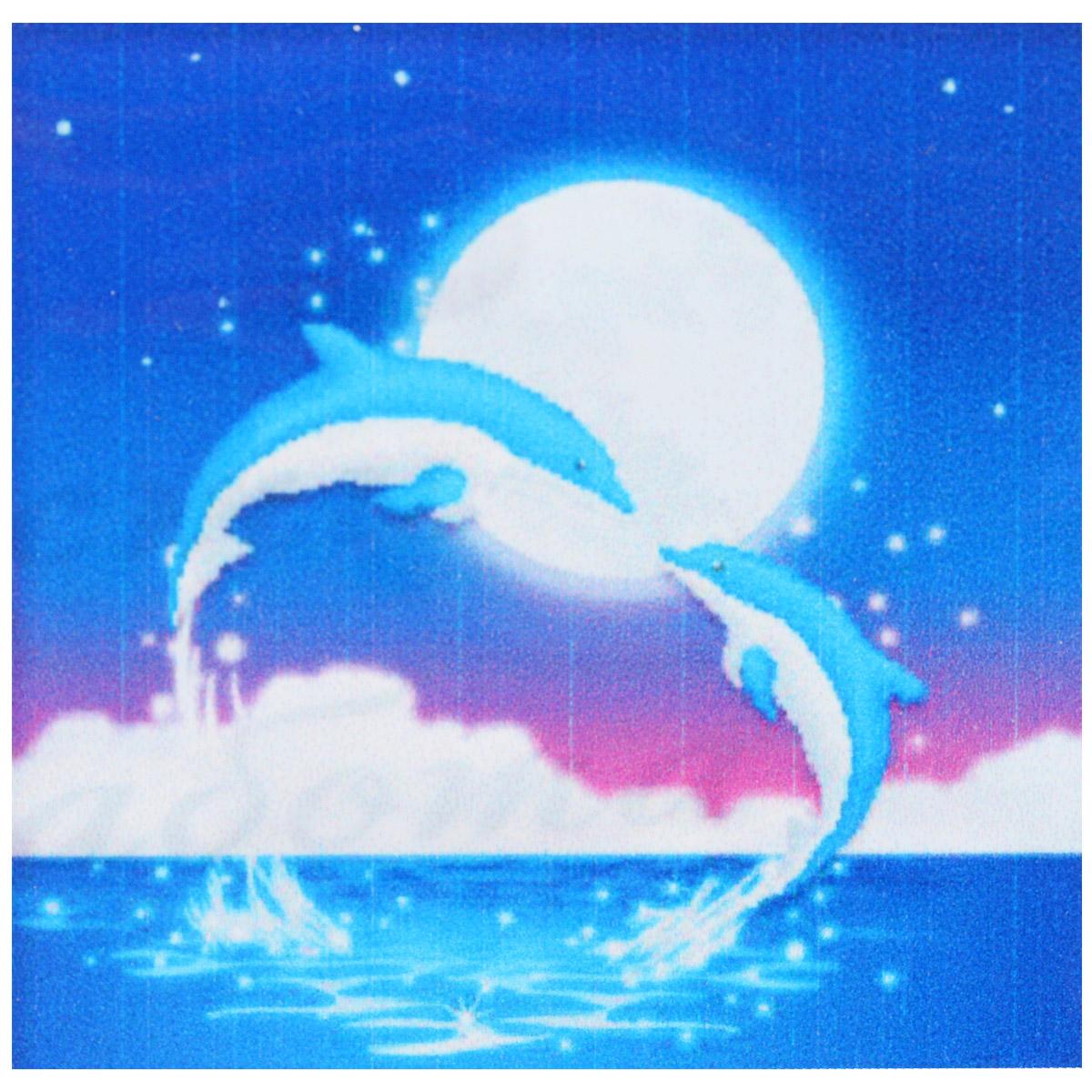 Набор для изготовления картины со стразами Cristal Дельфины, 48,5 х 48,5 см7710732.9026Набор для изготовления картины со стразами Cristal Дельфины поможет вам создать свой личный шедевр. Работа, выполненная своими руками, станет отличным подарком для друзей и близких! Набор содержит: - полотно-схема с нанесенным рисунком и клеевым слоем (размер 55 см х 55 см), - пластиковое блюдце; - стразы (9 цветов), - клей для страз; - карандаш; - точилка; - пинцет; - 2 ватные палочки; - 2 маленьких пакетика; - инструкция на русском языке. Подарите близким тепло ваших рук!