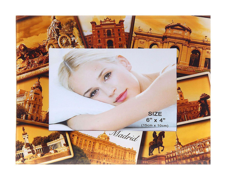 Фоторамка Sima-land Мадрид, 10 см х 15 см133406Фоторамка Sima-land Мадрид - сувенир в полном смысле этого слова. В переводе с французского souvenir означает «воспоминание». И главная задача любого сувенира – хранить воспоминание о месте, где вы побывали, или о том человеке, который подарил данный предмет.