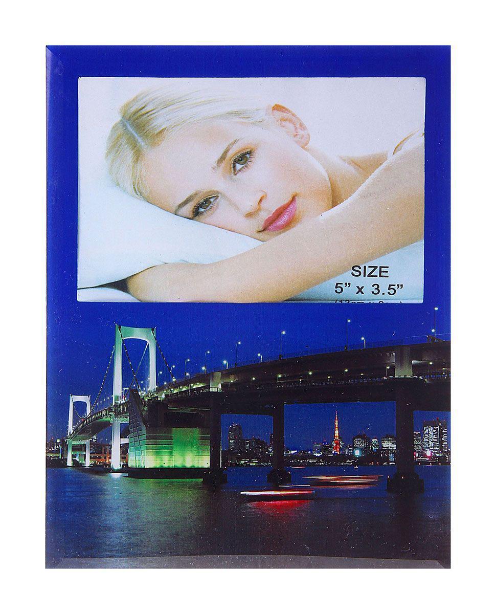 Фоторамка Sima-land Разводной мост, 9 см х 13 см133381Фоторамка Sima-land Разводной мост - сувенир в полном смысле этого слова. И главная задача любого сувенира – хранить воспоминание о месте, где вы побывали, или о том человеке, который подарил данный предмет.