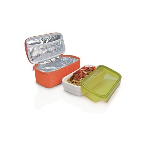 IRIS ТермоЛанчбокс NANO II (+ 0,8 л герметичный контейнер)/ Оранжевый9668-TТермоЛанчбокс NANO II (+ 0,8 л герметичный контейнер)/ Оранжевый
