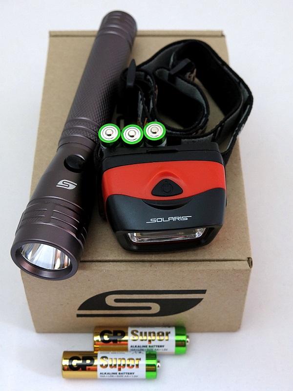 Набор фонарей SOLARIS Kit F-10/L20 с комплектацией