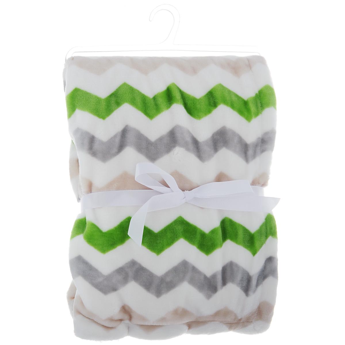 Плед Baby Days, цвет: зеленый, 76 см х 101 смbd10009_зеленыйСтирка при температуре не более 30°С. Деликатный отжим. Не отбеливать. Не гладить. Сухая чистка запрещена. Сушка в барабане при более низкой t